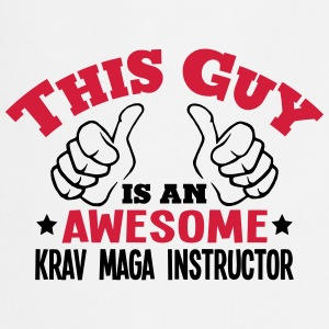 this guy is an awesome krav maga instruc - Cooking Apron