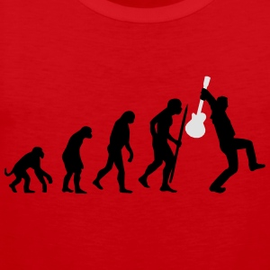 Evolution of rock Shirts - Mannen Premium tank top