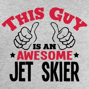 this guy is an awesome jet skier 2col - Men's Sweatshirt by Stanley & Stella