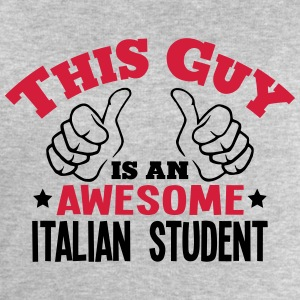 this guy is an awesome italian student 2 - Men's Sweatshirt by Stanley & Stella