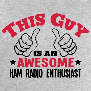 this guy is an awesome ham radio enthusi - Men's Sweatshirt by Stanley & Stella