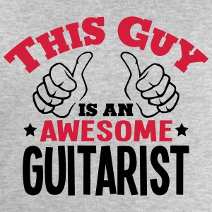 this guy is an awesome guitarist 2col - Men's Sweatshirt by Stanley & Stella