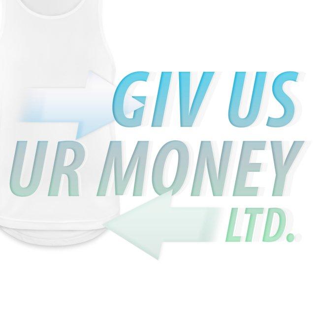 GivUsUrMoney Ltd. Official Shirt - Mens