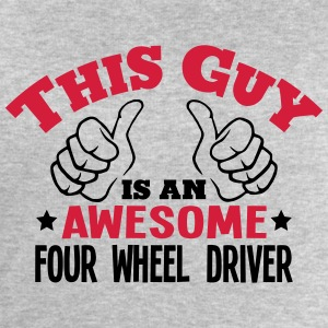 this guy is an awesome four wheel driver - Men's Sweatshirt by Stanley & Stella