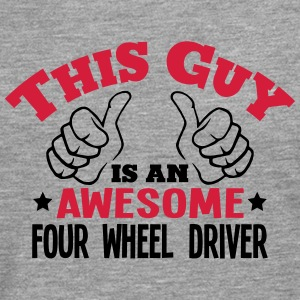 this guy is an awesome four wheel driver - Men's Premium Longsleeve Shirt