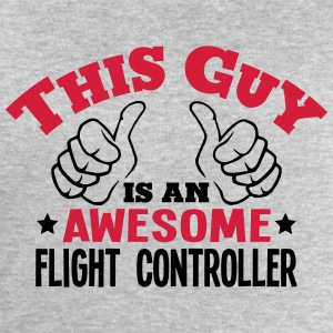 this guy is an awesome flight controller - Men's Sweatshirt by Stanley & Stella
