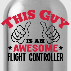 this guy is an awesome flight controller - Water Bottle