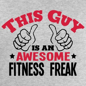 this guy is an awesome fitness freak 2co - Men's Sweatshirt by Stanley & Stella