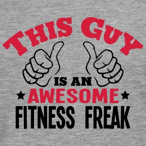 this guy is an awesome fitness freak 2co - Men's Premium Longsleeve Shirt