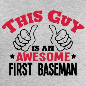 this guy is an awesome first baseman 2co - Men's Sweatshirt by Stanley & Stella