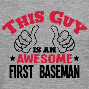 this guy is an awesome first baseman 2co - Men's Premium Longsleeve Shirt