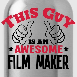 this guy is an awesome film maker 2col - Water Bottle
