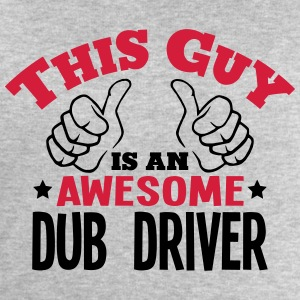 this guy is an awesome dub driver 2col - Men's Sweatshirt by Stanley & Stella