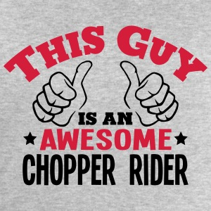 this guy is an awesome chopper rider 2co - Men's Sweatshirt by Stanley & Stella