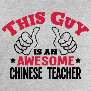 this guy is an awesome chinese teacher 2 - Men's Sweatshirt by Stanley & Stella