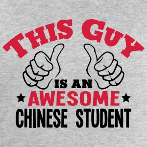 this guy is an awesome chinese student 2 - Men's Sweatshirt by Stanley & Stella