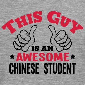 this guy is an awesome chinese student 2 - Men's Premium Longsleeve Shirt