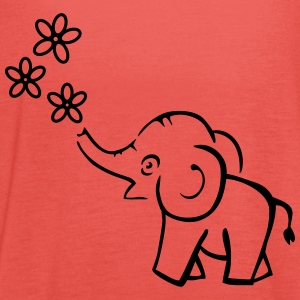 elefant T-Shirts - Frauen Tank Top von Bella