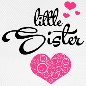 Little Sister with Hearts Pullover & Hoodies - Baseballkappe