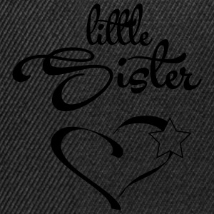Little Sister with Heart T-shirts - Snapback Cap