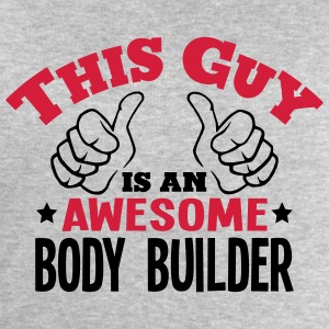 this guy is an awesome body builder 2col - Men's Sweatshirt by Stanley & Stella