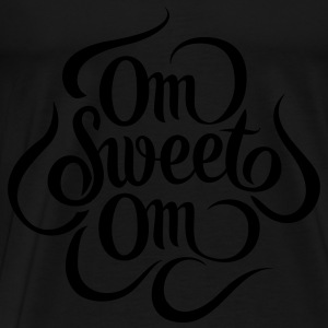 Om Sweet Om Topper - Premium T-skjorte for menn