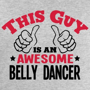 this guy is an awesome belly dancer 2col - Men's Sweatshirt by Stanley & Stella