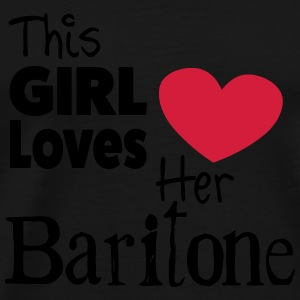 This Girl Loves Her Baritone Bouteilles et Tasses - T-shirt Premium Homme