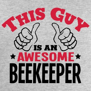 this guy is an awesome beekeeper 2col - Men's Sweatshirt by Stanley & Stella
