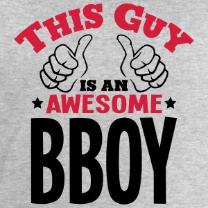 this guy is an awesome bboy 2col - Men's Sweatshirt by Stanley & Stella