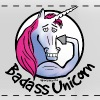 Badass Unicorn Mugs & Drinkware - Panoramic Mug