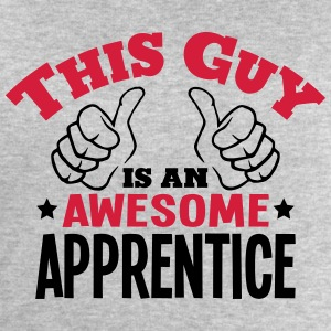 this guy is an awesome apprentice 2col - Men's Sweatshirt by Stanley & Stella