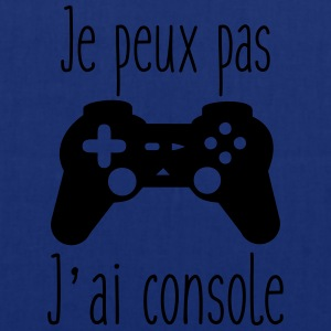 Je peux pas j'ai console,geek,gamer Tee shirts - Tote Bag