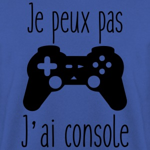 Je peux pas j'ai console,geek,gamer Tee shirts - Sweat-shirt Homme