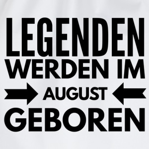 Legenden August T-Shirts - Turnbeutel