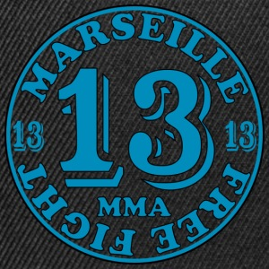 t-shirt homme MMA Marseille 13 - Casquette snapback