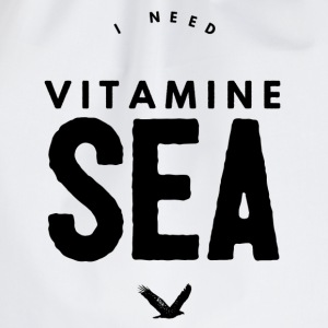 I NEED VITAMINE SEA Mugs & Drinkware - Drawstring Bag