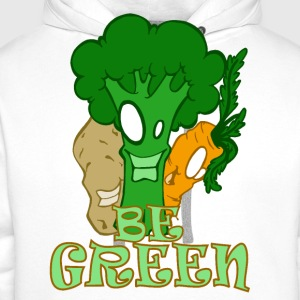 Be green - Sweat-shirt à capuche Premium pour hommes