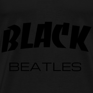 BLACK BEATLES Tröjor - Premium-T-shirt herr
