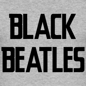 Black Beatles Tröjor - Slim Fit T-shirt herr