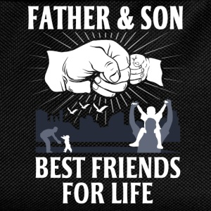Father And Son Best Friends For Life T-Shirts - Kids' Backpack