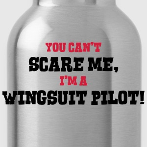 wingsuit pilot cant scare me - Water Bottle