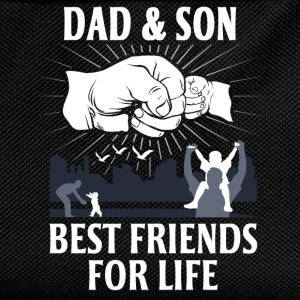 Dad And Son Best Friends For Life T-Shirts - Kids' Backpack