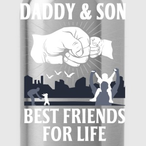 Daddy And Son Best Friends For Life T-Shirts - Water Bottle