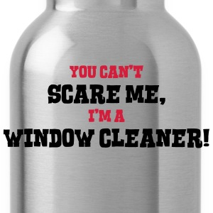 window cleaner cant scare me - Water Bottle