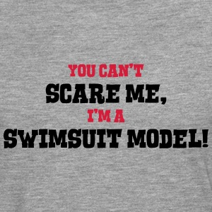 swimsuit model cant scare me - Men's Premium Longsleeve Shirt