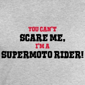 supermoto rider cant scare me - Men's Sweatshirt by Stanley & Stella