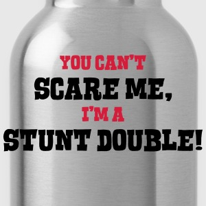 stunt double cant scare me - Water Bottle