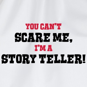 story teller cant scare me - Drawstring Bag
