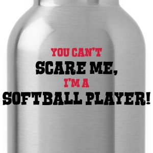 softball player cant scare me - Water Bottle